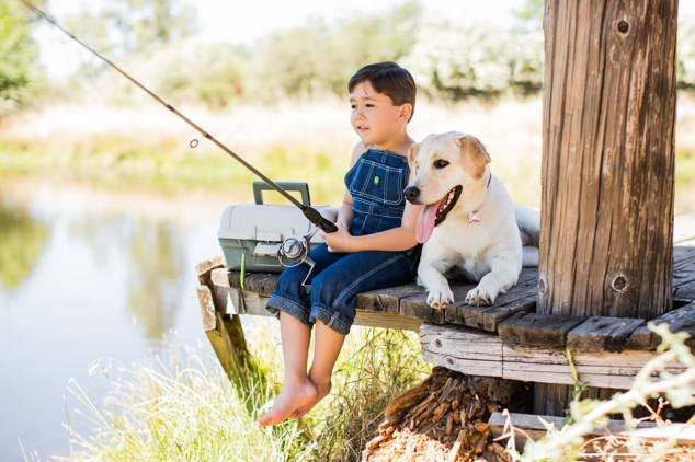 fishingpup