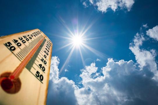 hot weather temperatures